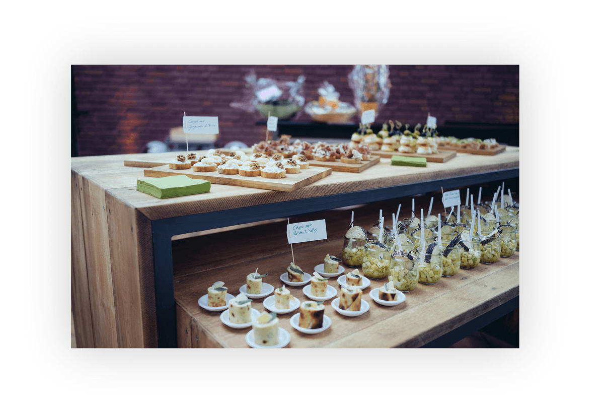 Seminar & Messe Catering Impression