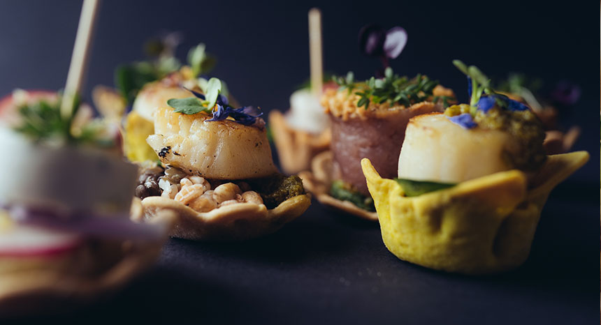 Business Catering Fingerfood & Canapes Impressionen | © mahl&zeit